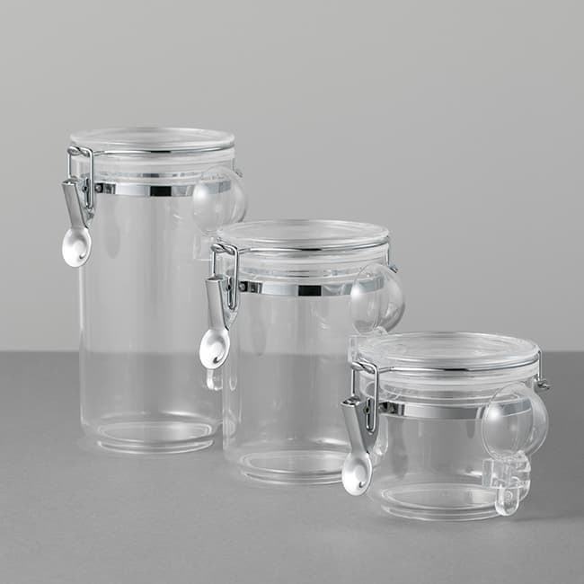 CASUALPRODUTCT AcrylicCanister Round Kitchen