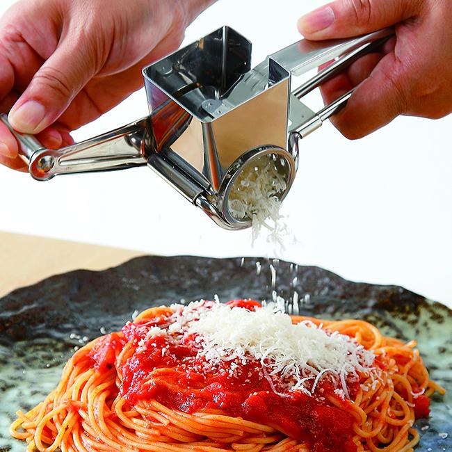 カジュアルプロダクト クチーナロータリーチーズグレーター ハンドル式 キッチン