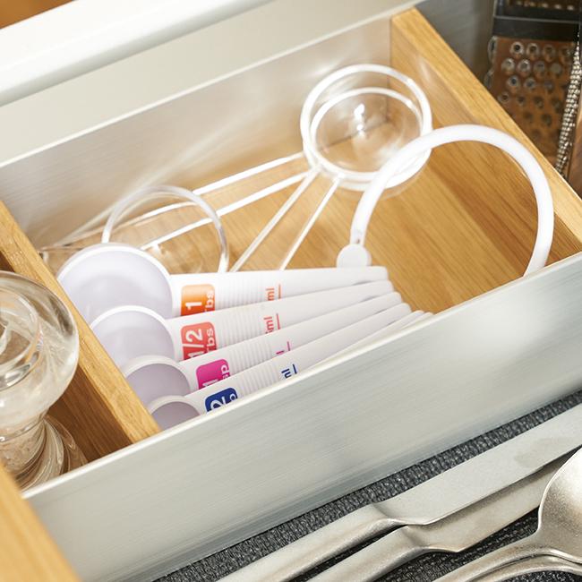 カジュアルプロダクト 6Pcsメジャースプーンセット 計量スプーン キッチン
