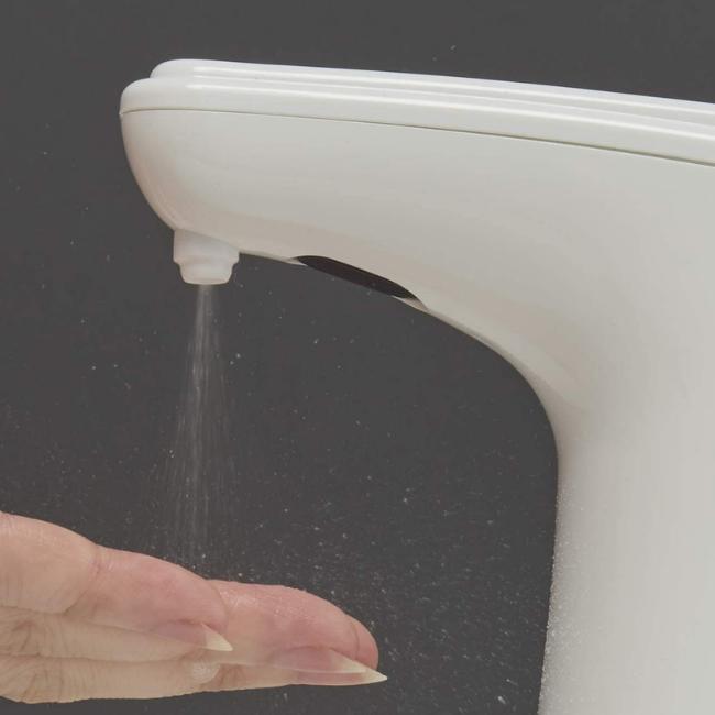 カジュアルプロダクト タッチレス消毒スプレー アルコール消毒 手洗い