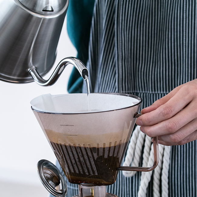 カジュアルプロダクト バールポット用コーヒードリッパー 直接注げる カフェ
