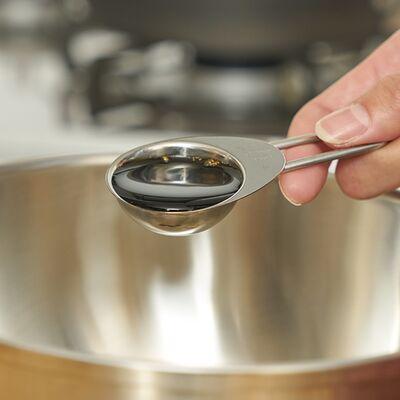 カジュアルプロダクト 4点計量スプーンセット ワイヤーハンドル キッチン