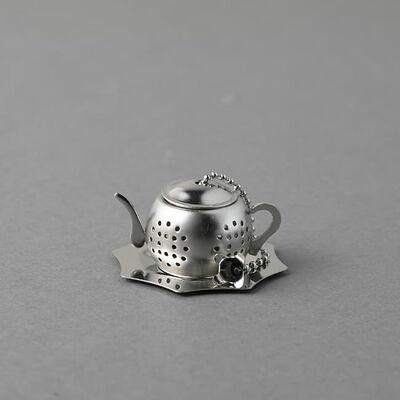 カジュアルプロダクト ポット型ティーストレーナー 茶こし カフェレストラン